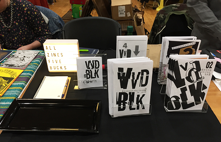 VVD BLK zines 01-05 ... to be sold on this website soon!