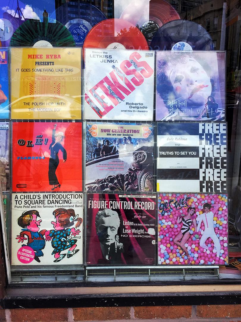 Dave's Records Window
