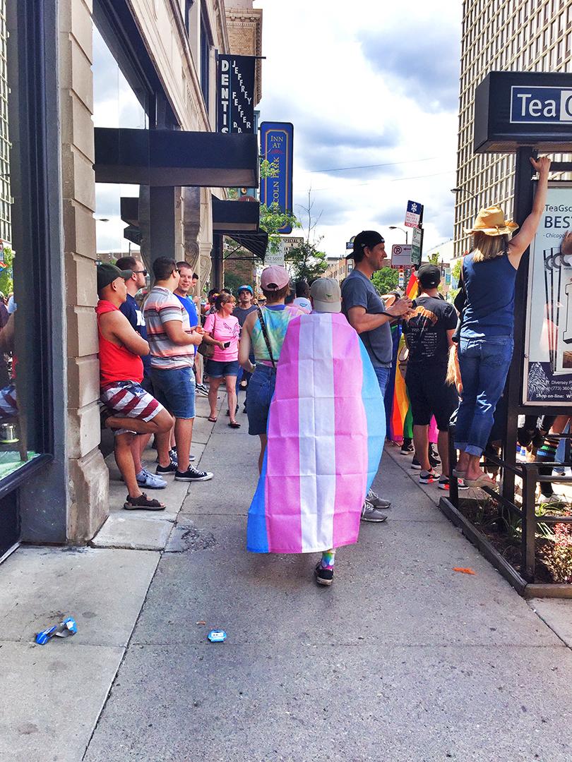 Pride Parade People