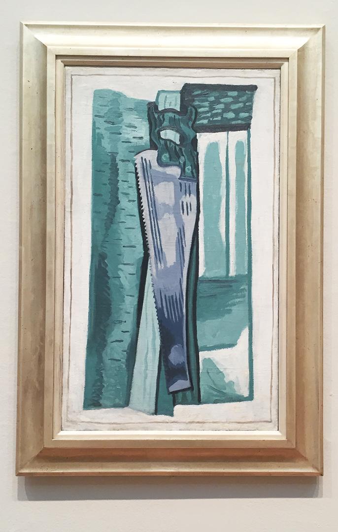 Saw, 1923. Stuart Davis. Oil on canvas.