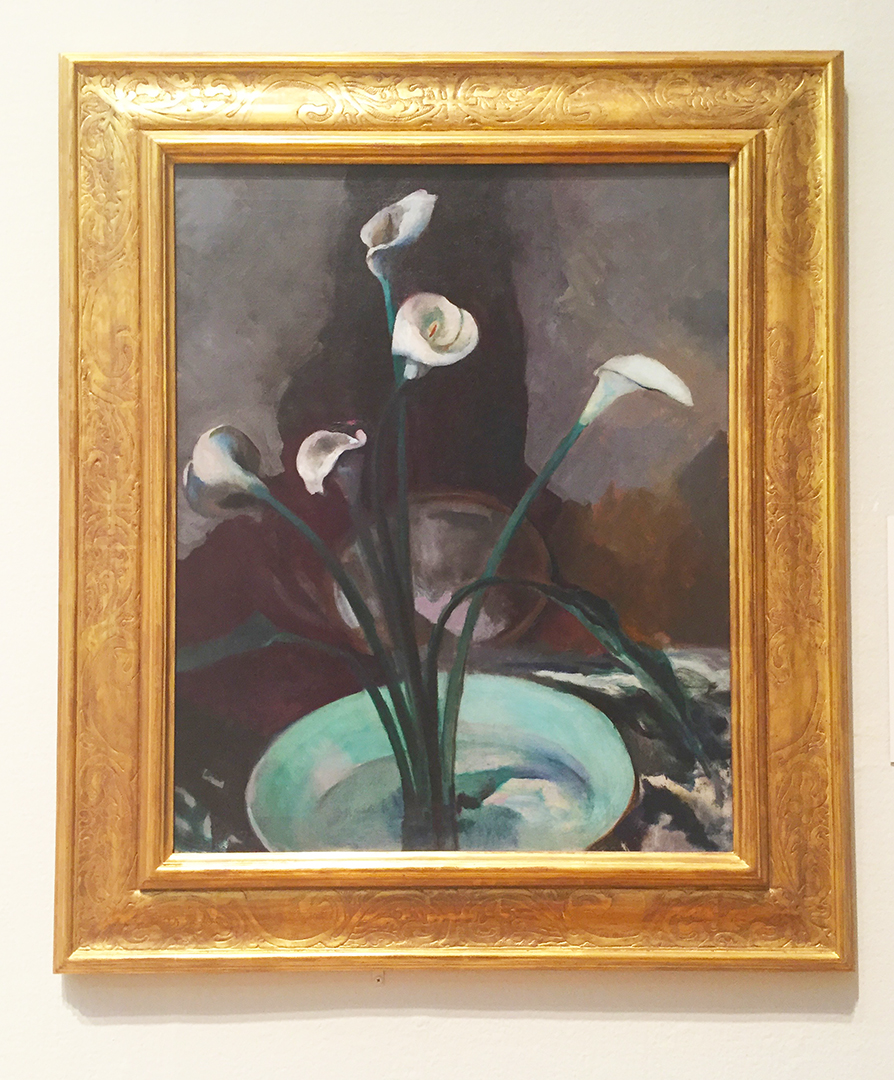 Calla Lilies, 1922/25. Arthur B. Carles. Oil on canvas.