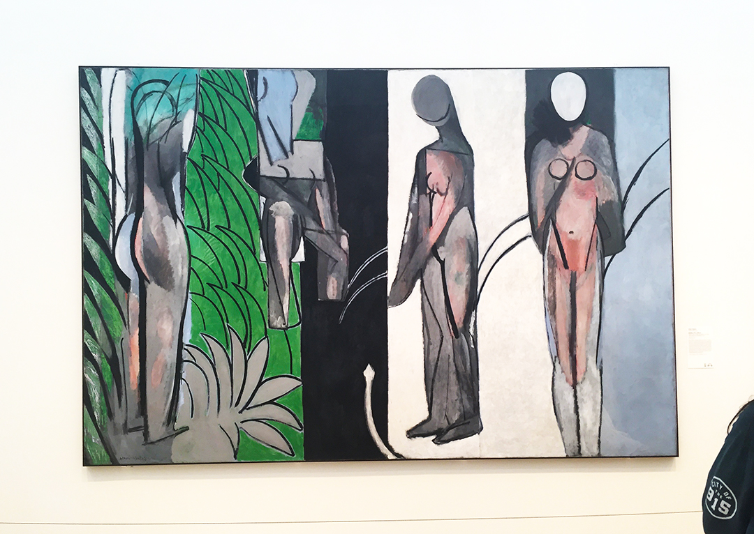 Bathers by a River, 1909-1917, Henri Matisse. il on canvas.