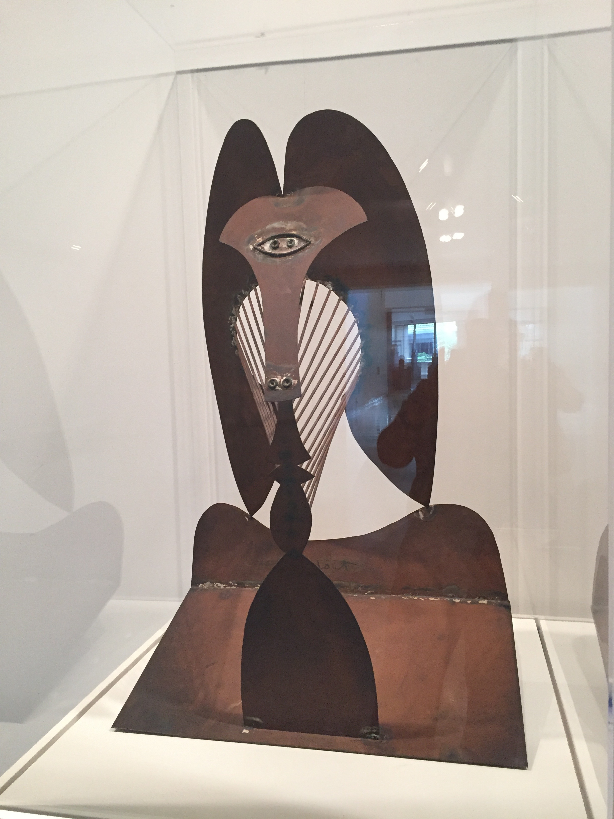 The original maquette of the Chicago sculpture located in the Art Institute of Chicago.
