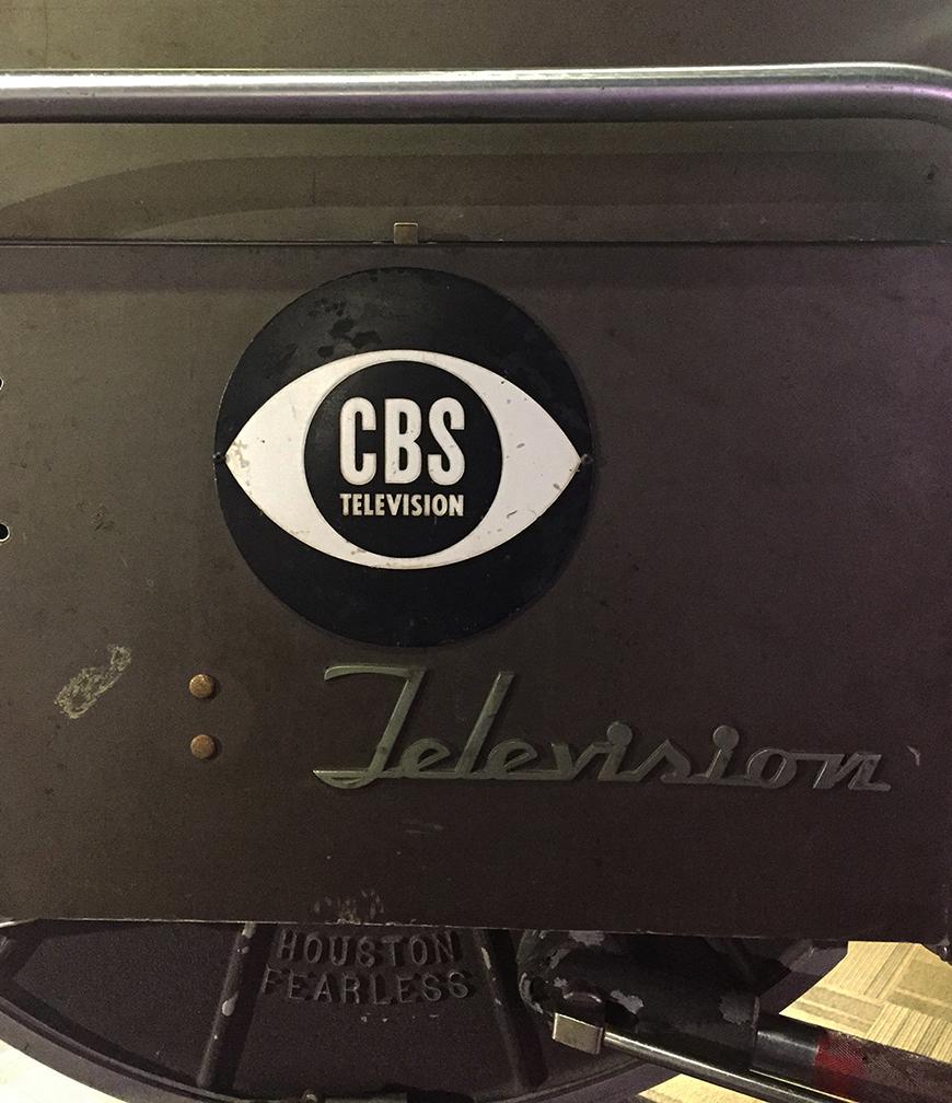 'The Great Debate' TV Camera (detail)