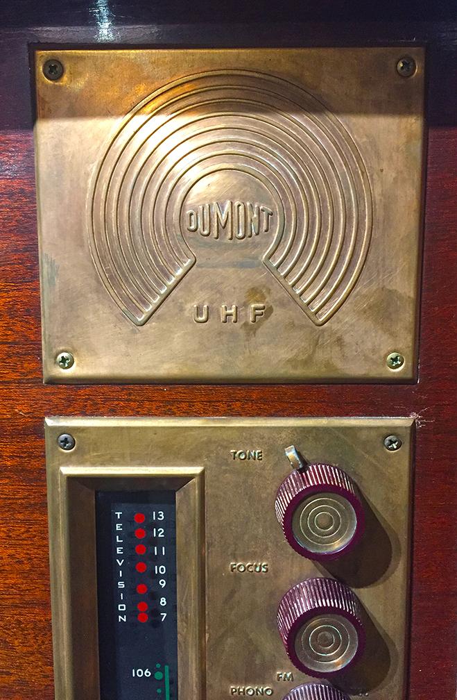 DuMont UHF TV Set