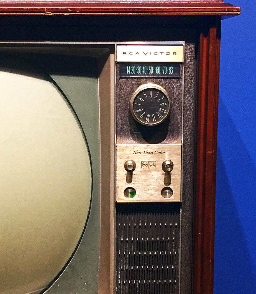 RCA Victor 'New Vista Color' TV