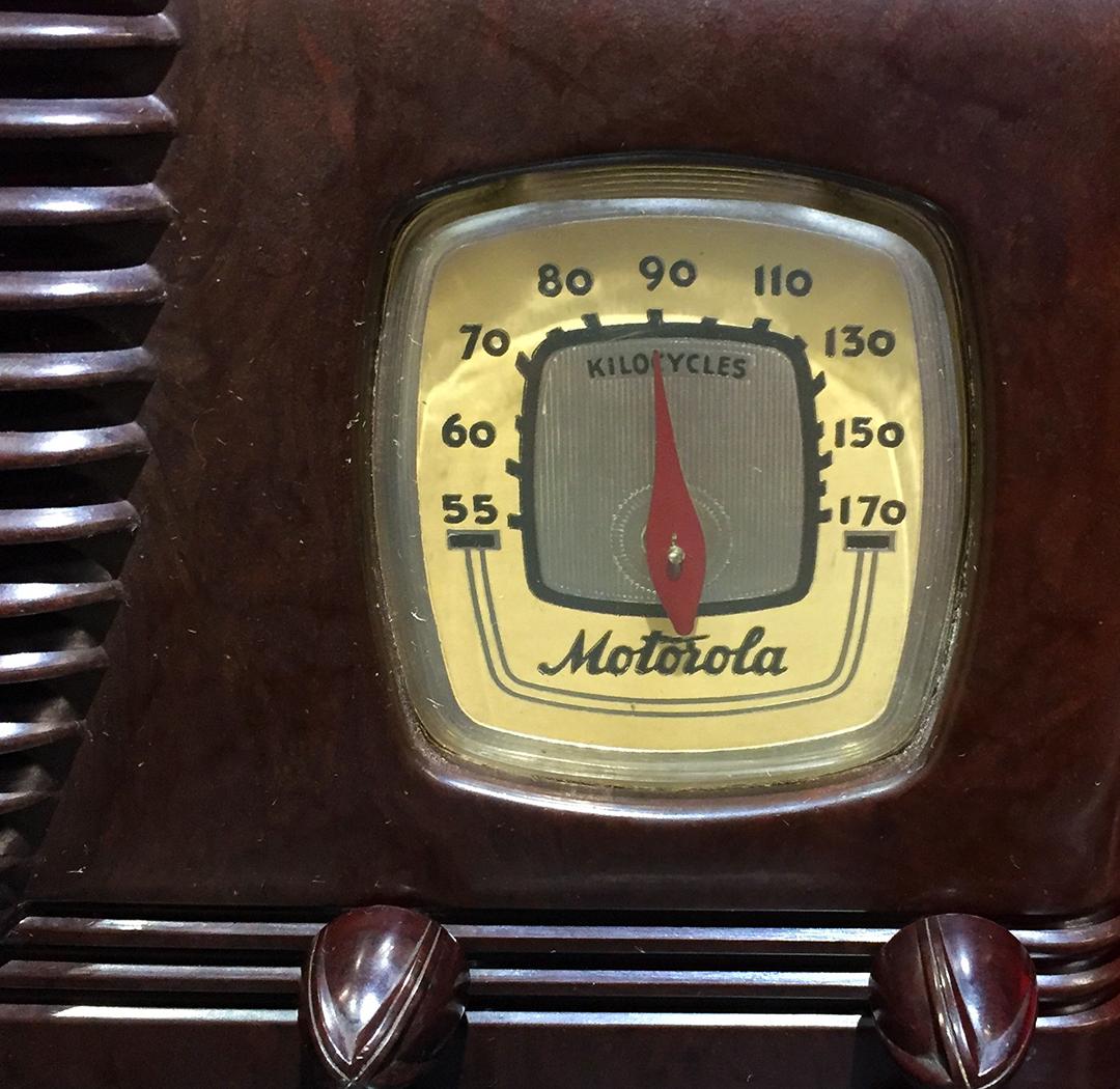 Motorola Radio (detail)
