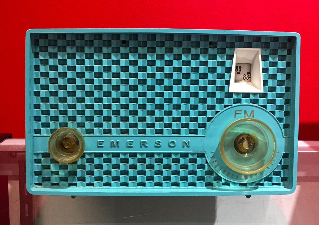1960's Portable Emerson Radio