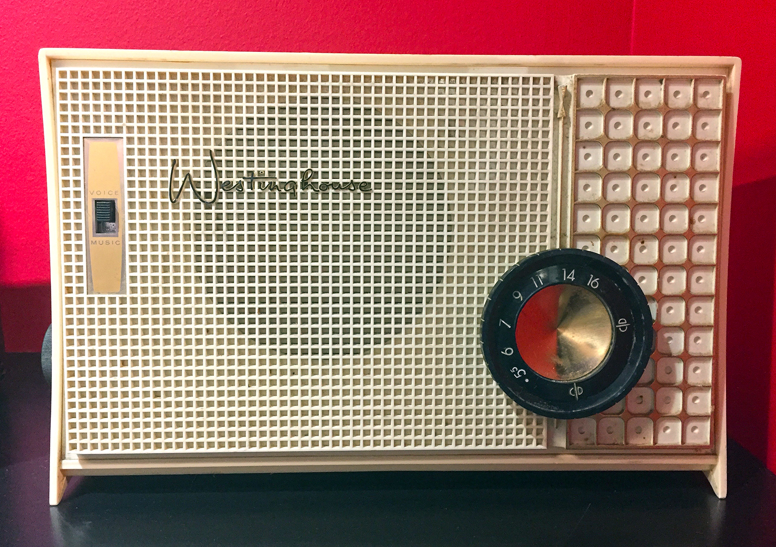 1950's Westinghouse Radio - Music and Voice Recorder