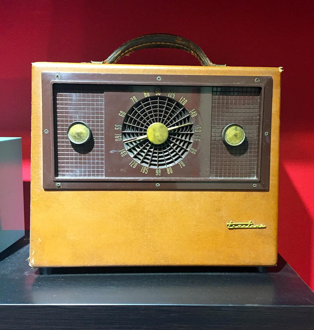Mid-1950's Trutone Portable Radio