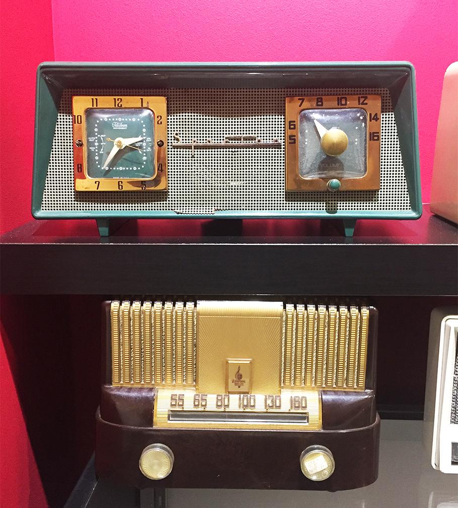 Sparton Radio (top) & Emerson Radio (bottom)