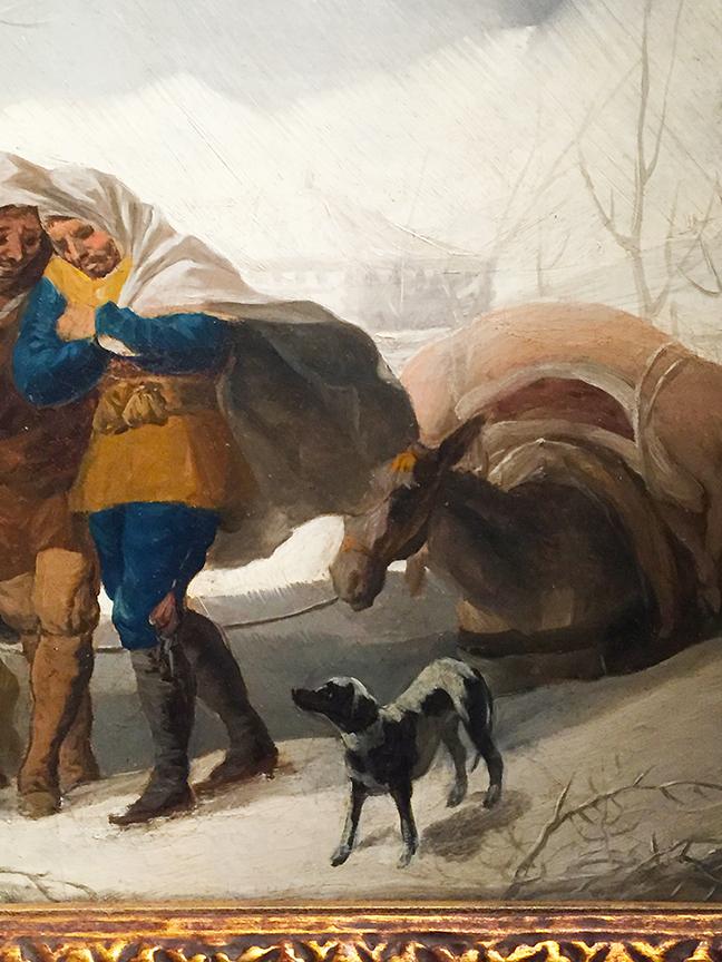 Winter Scene (detail)