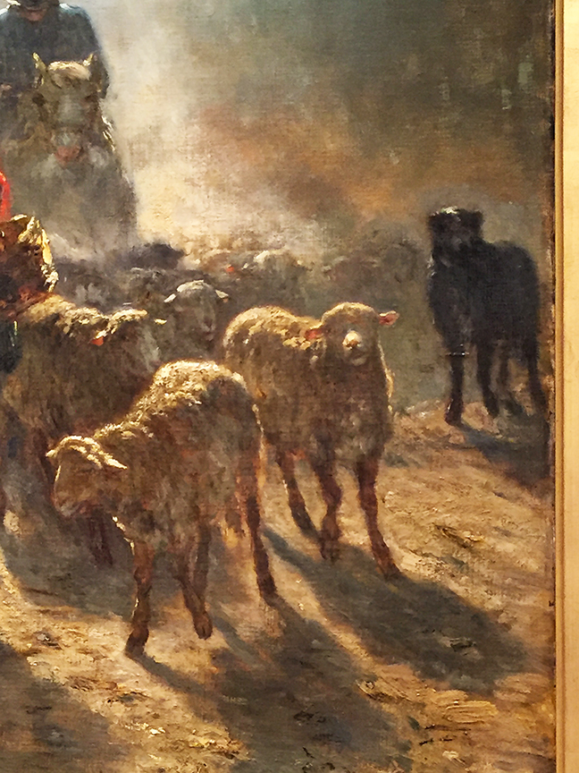 The Road to Market (detail)