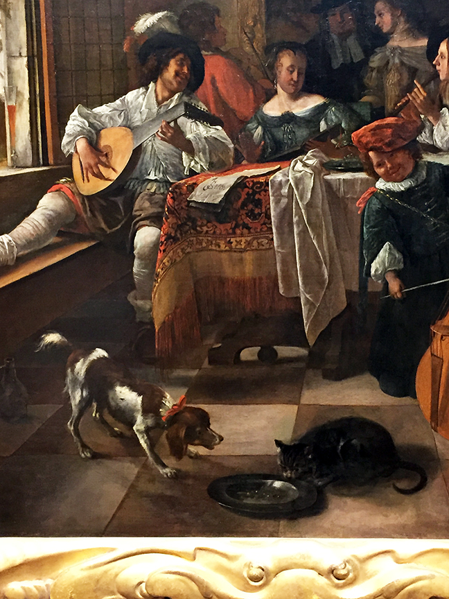 The Family Concert (detail)