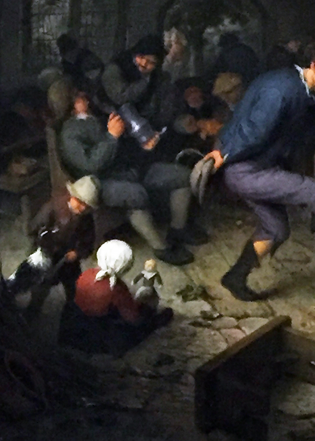 Merrymakers in an Inn (detail)