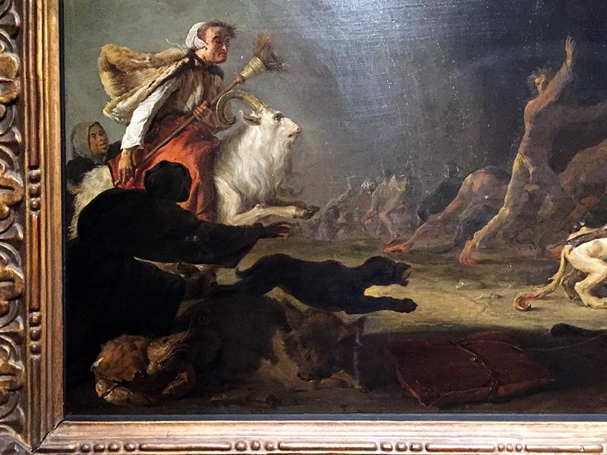 A Witches' Sabbath (detail)