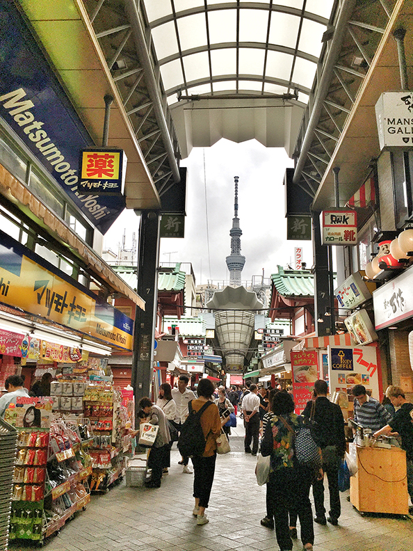 SENSO-JI TEMPLE AND MARKET ...  & TOKYO SKYTREE