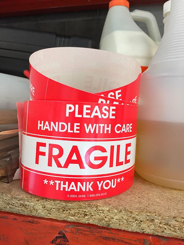 A san serif approach to FRAGILE