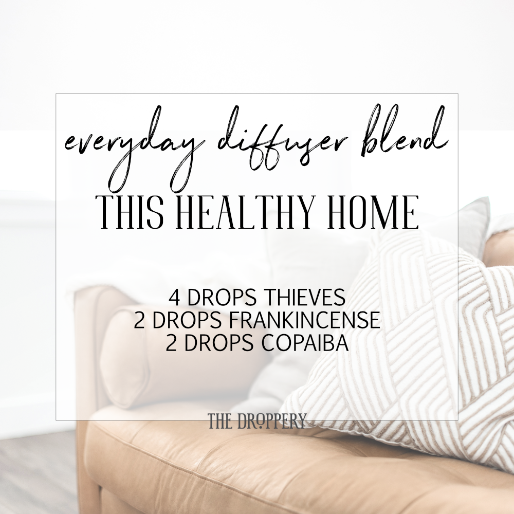 A healthy home is a happy home! Be happy!