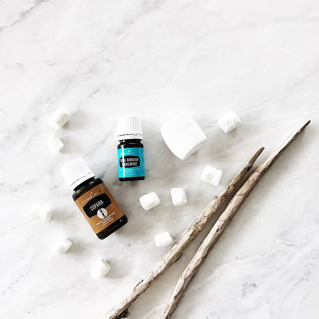Marshmallow diffuser blend in the diffusers as we plan our summer camping trips! ⁣ ⁣ MARSHMALLOW | 4 drops Copaiba + 3 drops RHS ⁣ ⁣ See more summer diffuser inspiration in the highlights!