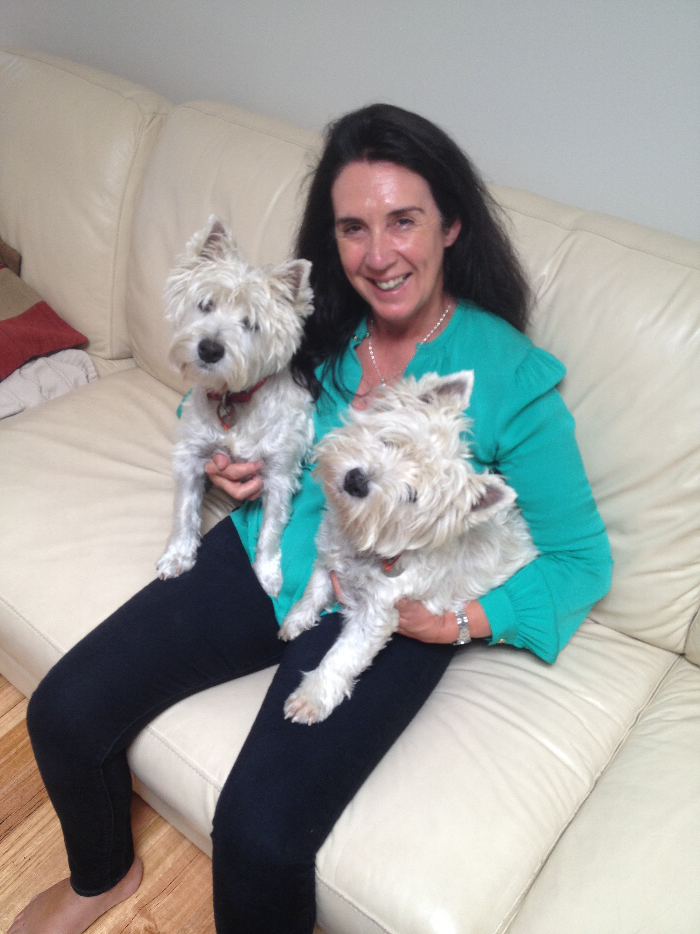 Karolyne - Salon Owner - Interests - Our vegetable garden, travel and learning new languages. My passion is our westies!