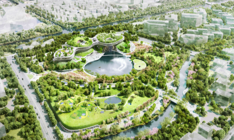 VISITORS & SPORTS CENTERS, FUTURE PARK AT ZJ INNOPARK - EID Architecture - Finalist
