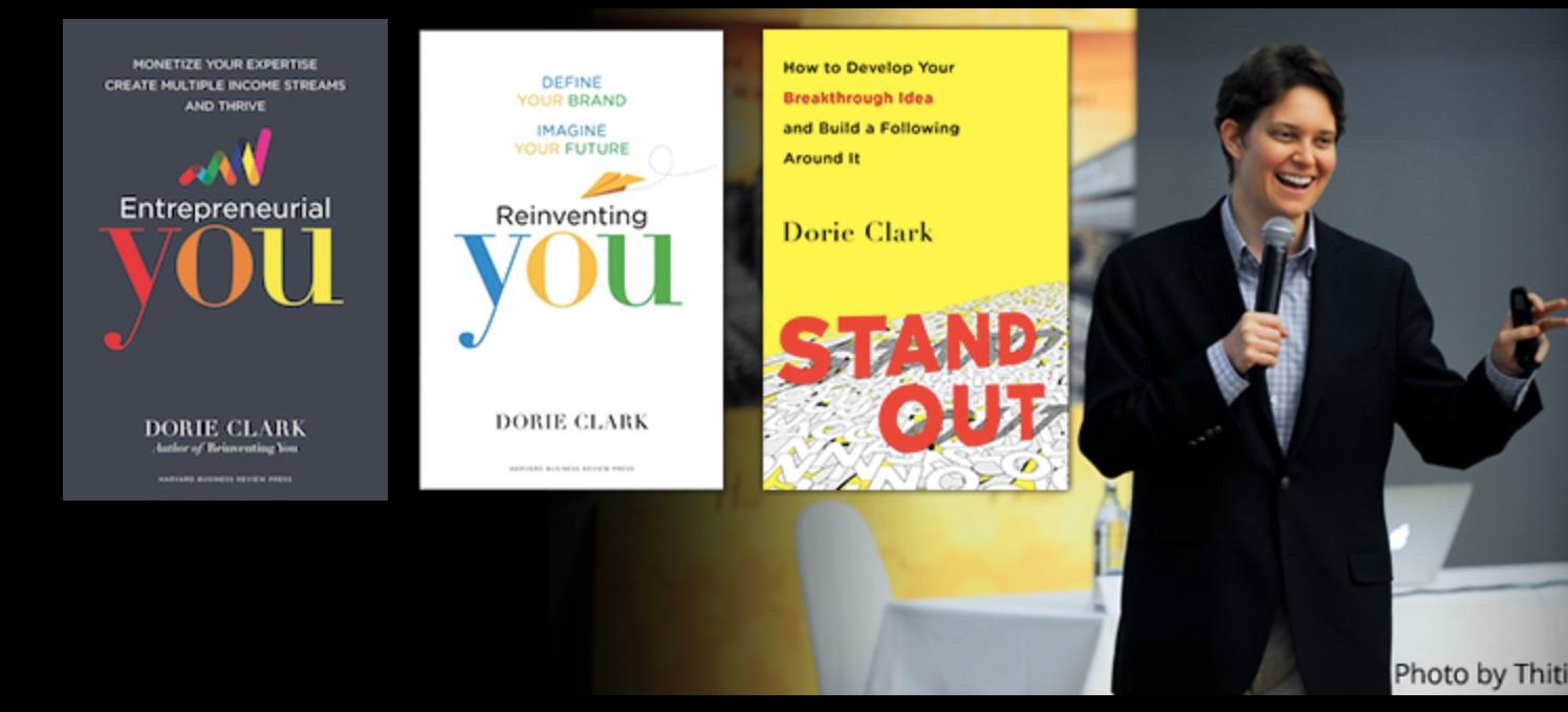 Dorie Clark Books
