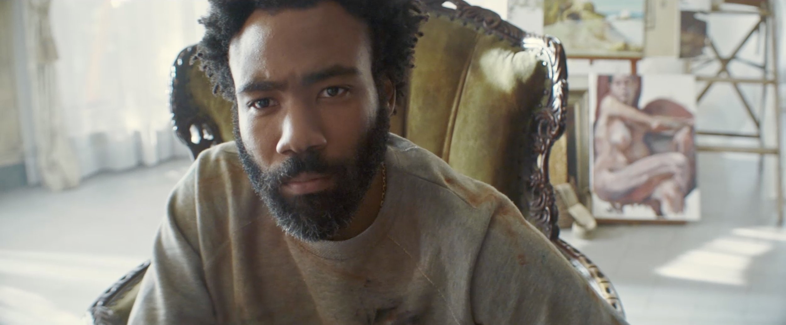 DONALD GLOVER in recent Adidas spots worked on by Sing J Lee & Sylva Zakhary