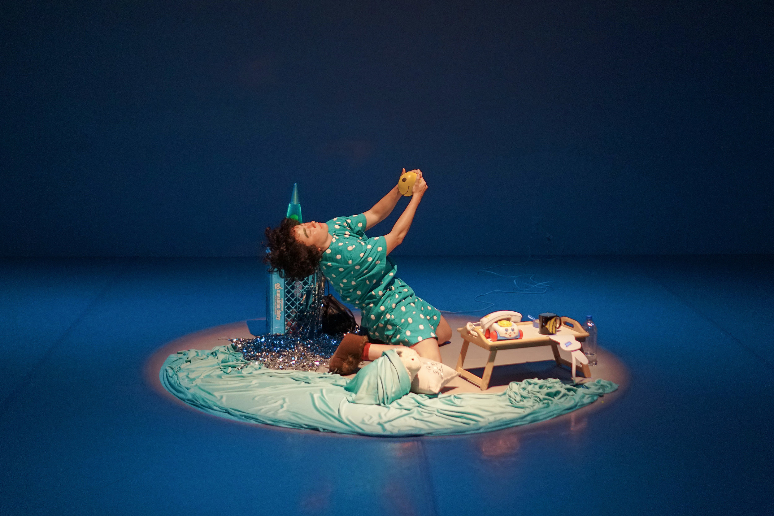 Photo by Erik Molano featuring Alyza DelPan Monley's work  Duet of Self