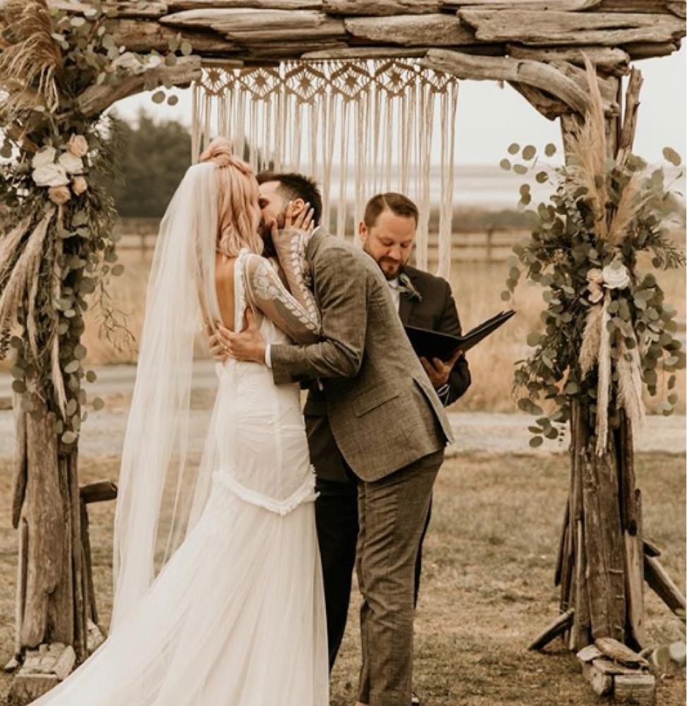 Crockett Farm Camp wedding