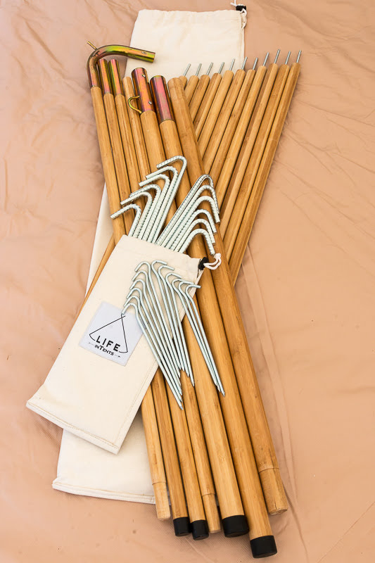 fernwell bell tent posts and stakes.jpg