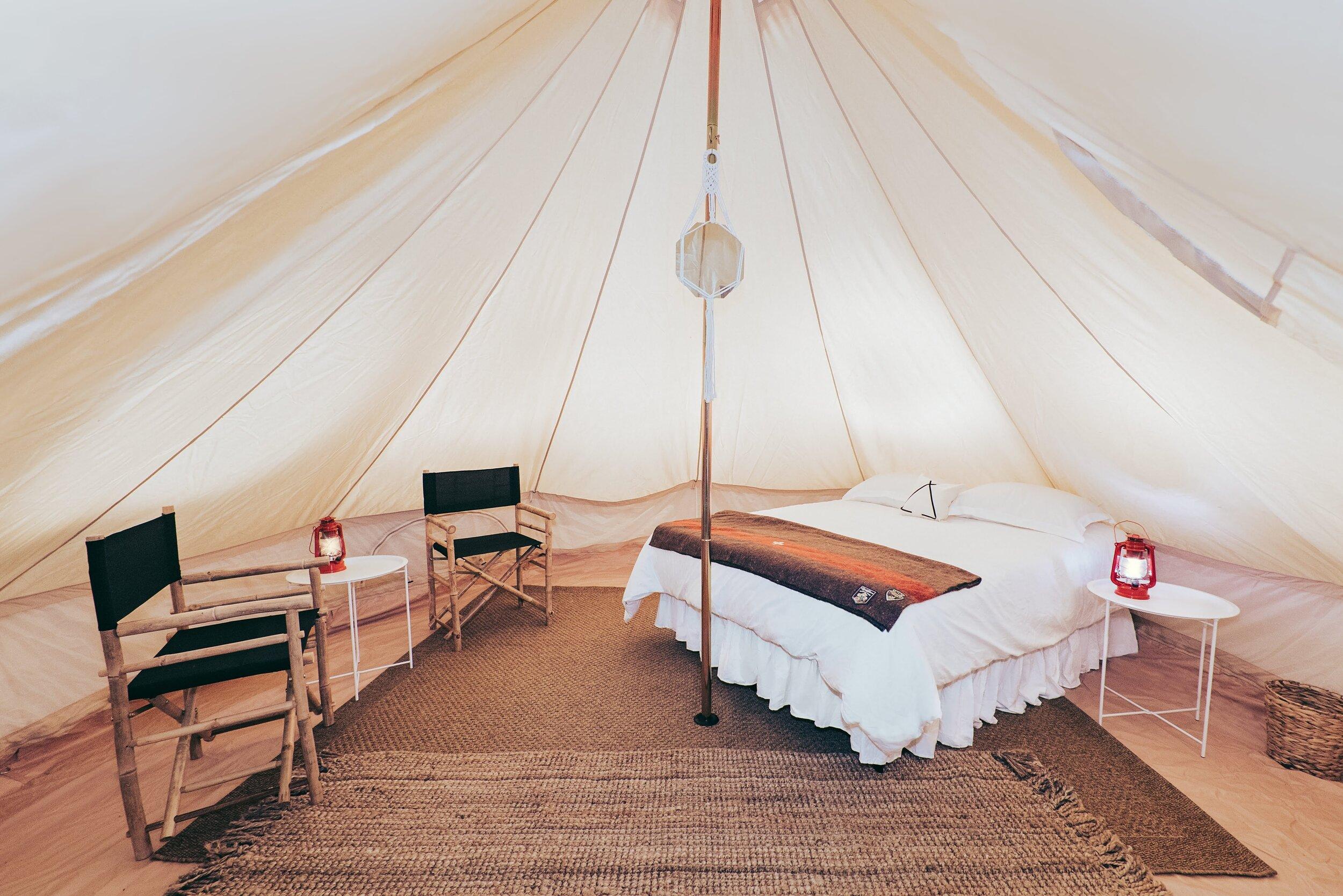 Single Queen Bed