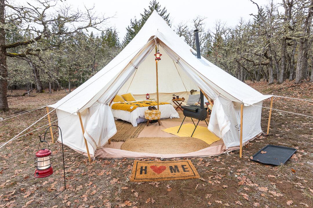 Diy Modular Backyard Guest Tent House Life Intents