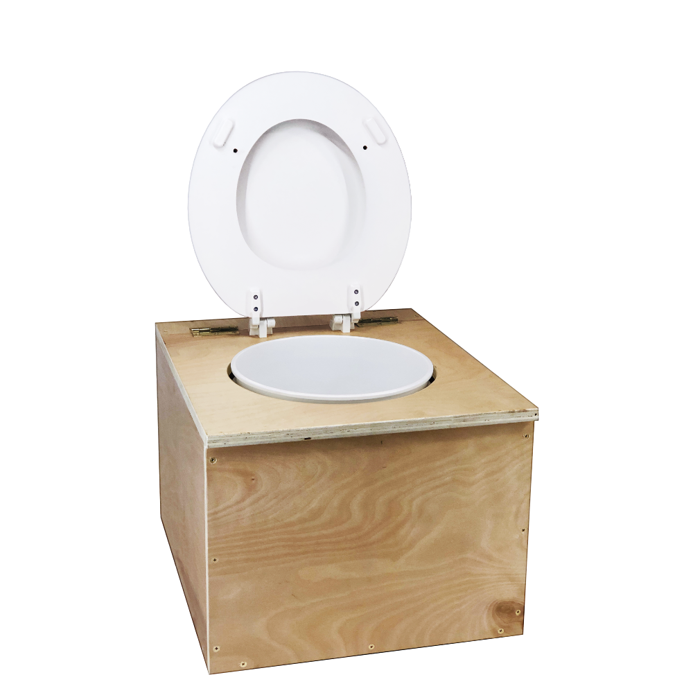 """/""""Loveable Loo/"""" Handmade Compost Toilet 3//4 Birch Plywood"""