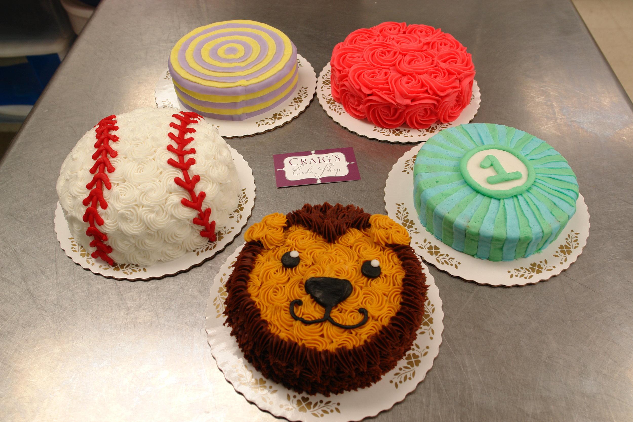 Smash Cake Textures