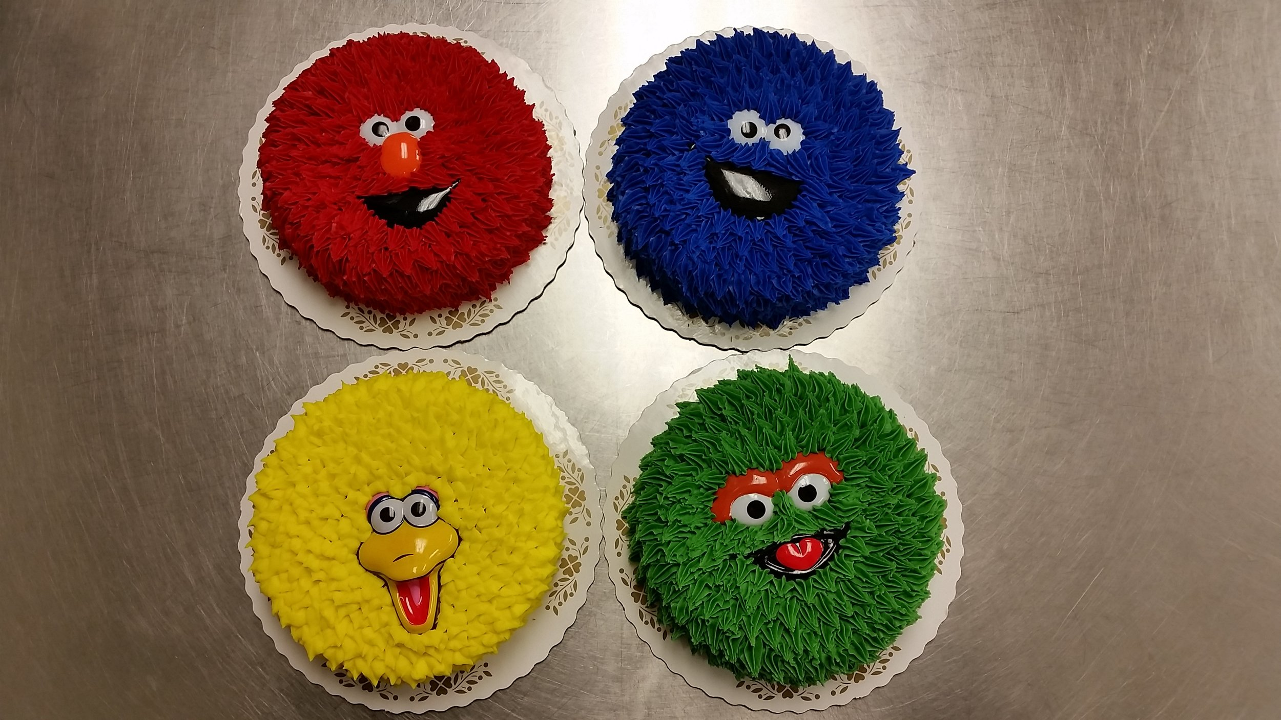 Smash Cake Character Faces