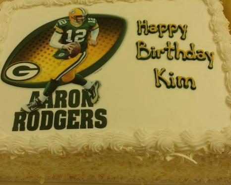 Packers Edible Image