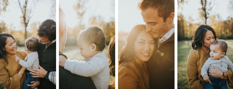 Park Sunset Family Session : Lifestyle Photography