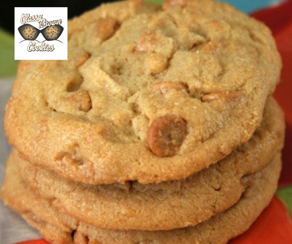 Glassy Brown Cookies - April 2017