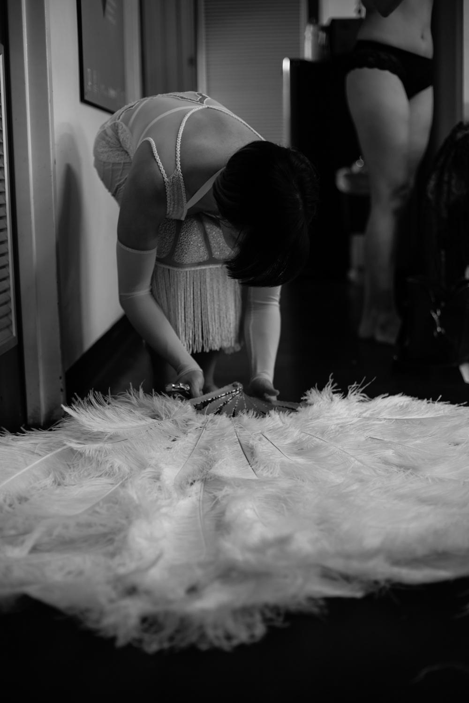 Deco Dolls. Behind the Scenes, Adelaide Fringe 2017