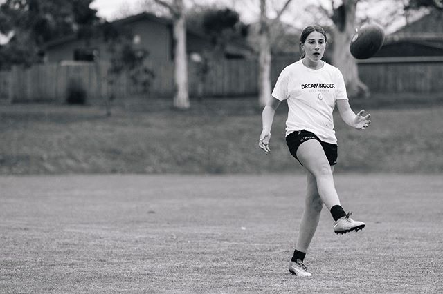 Need to improve your team's goal-kicking?⠀⠀ ⠀⠀ Small warm-up drills can bring competitive energy from the start of training, team morale and importantly practice goal-kicking under pressure.⠀⠀ ⠀⠀ Read more at https://www.girlsfooty.com.au/blog/2019/5/21/creative-goal-kicking-drills-to-skyrocket-confidence