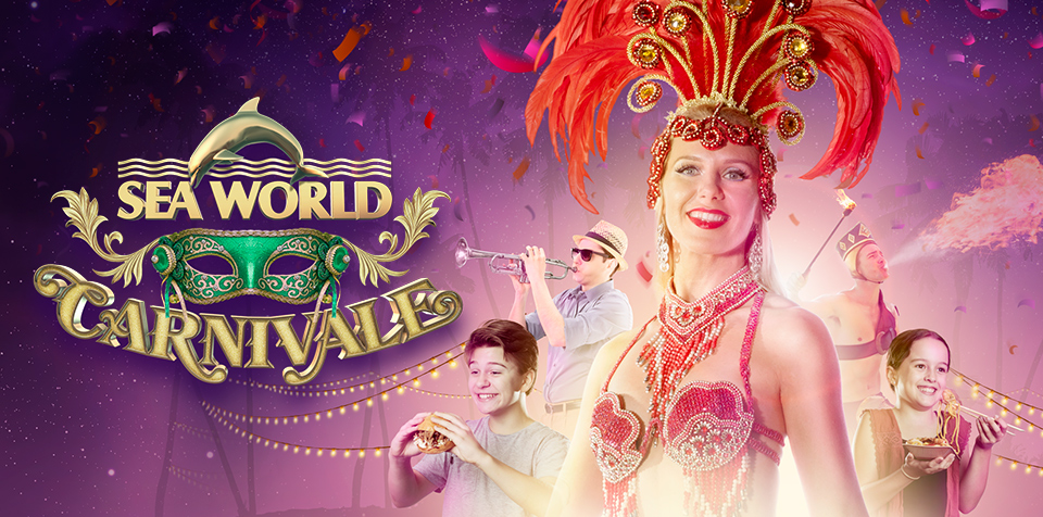 Sea World Carnivale is live through six nights in January.