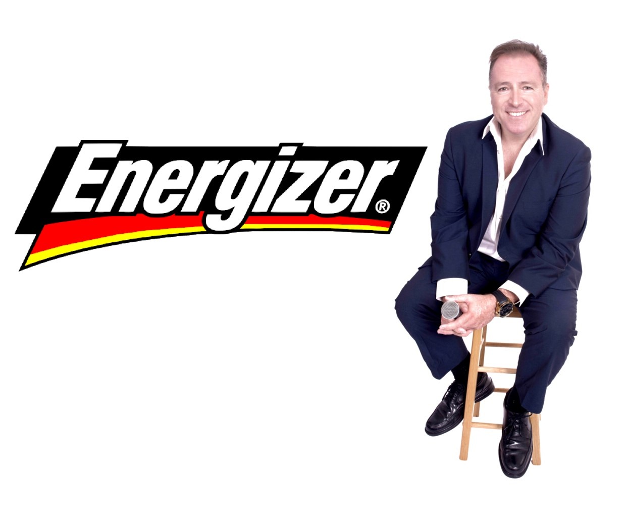 Michael is in the studio at the start of the month recording Voice Over for an upcoming ENERGIZER marketing campaign in the U.S.