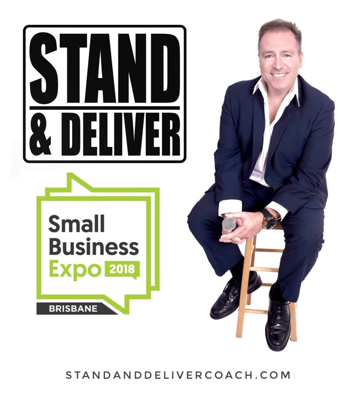 Michael will be appearing at the 2018 Brisbane Small Business Expo in May.