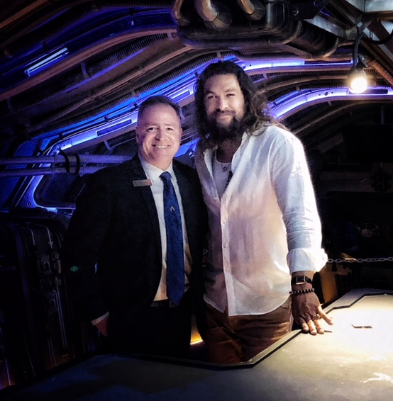 Michael spent a little time interviewing AQUAMAN star, Jason Momoa, during his tour of Australia for the December national premiere.