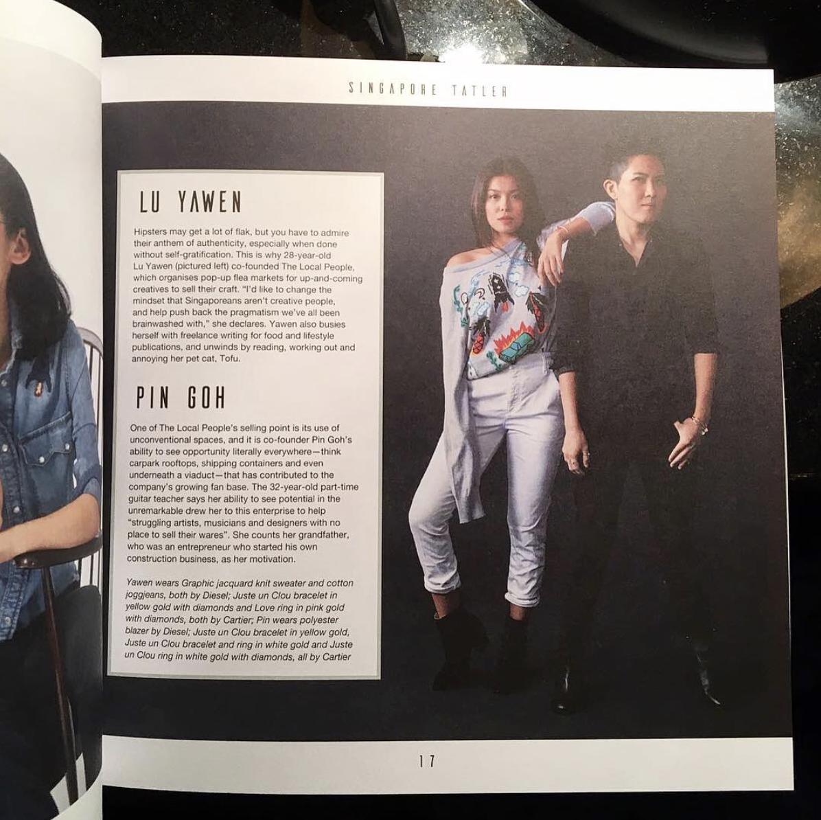 Generation T 2017 Singapore Tatler