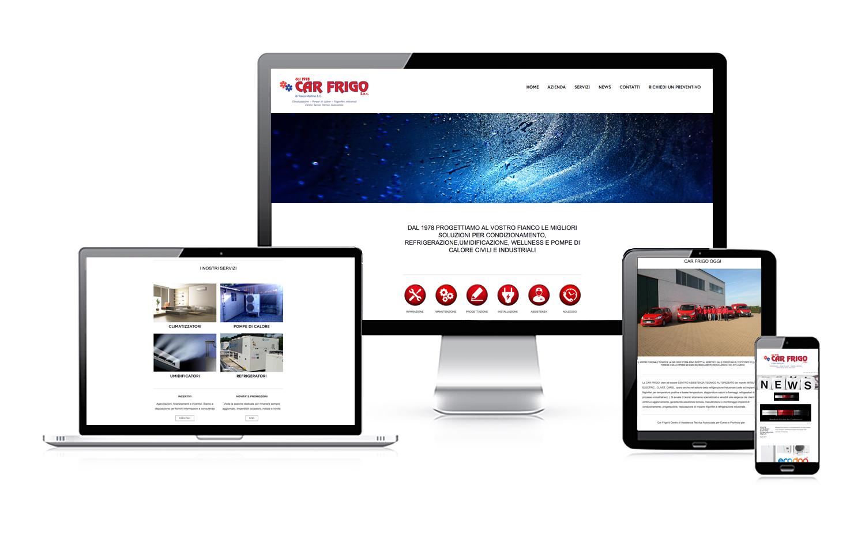 nuovo sito web car frigo agenzia creativa comunicazione web 2017