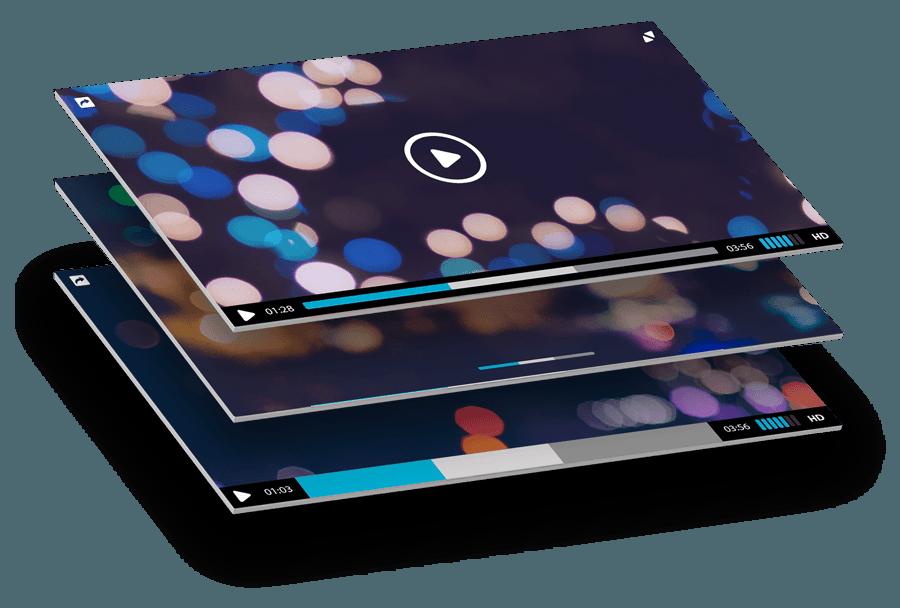 UN VIDEO DI 1 MINUTO HA LA STESSA EFFICACIA COMUNICATIVA DI CIRCA 1,8 MILIONI DI PAROLE - - Forrester Research -