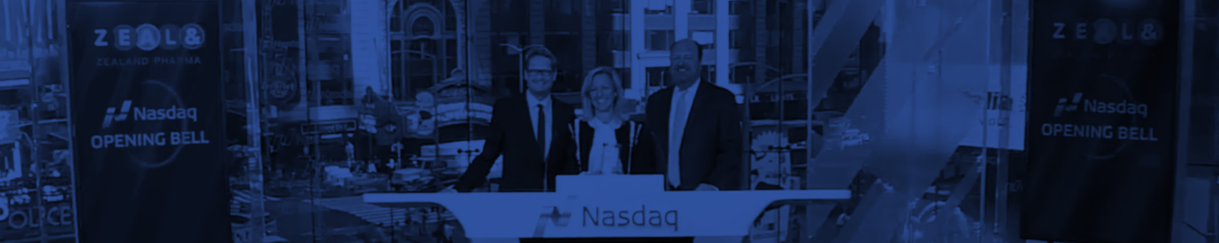 10.08.2017 President and CEO Britt Meelby Jensen rang the Opening Bell at NASDAQ, New York.    Watch the ceremony  here .