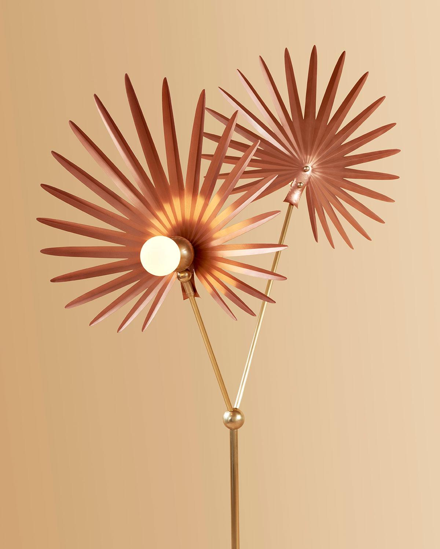 Brushed copper / satin brass